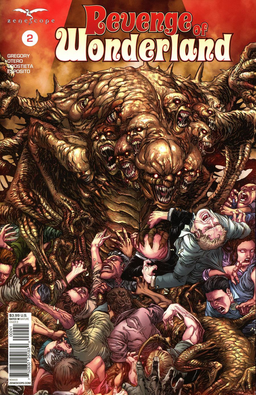 Grimm Fairy Tales Presents Revenge Of Wonderland #2 Cover D Harvey Tolibao