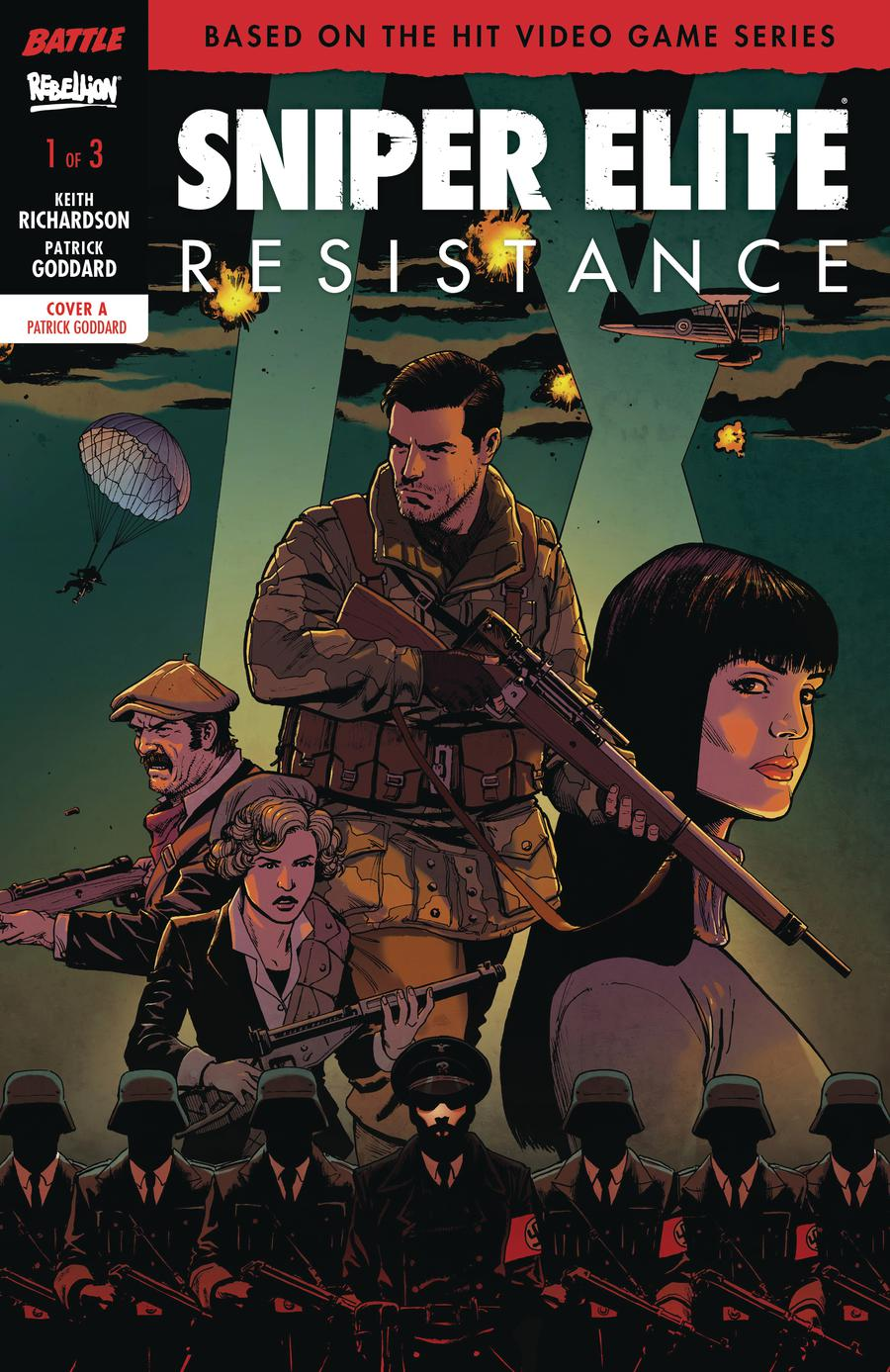 Sniper Elite Resistance #1 Cover A Regular Patrick Goddard Cover