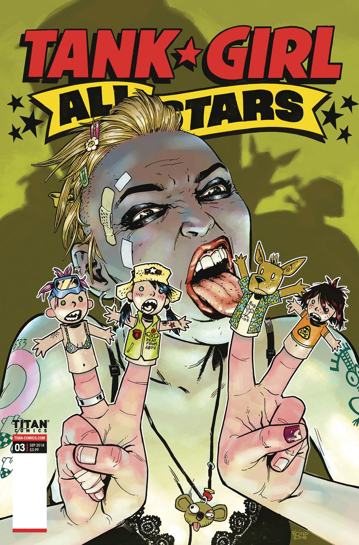 Tank Girl All Stars #3 Cover B Variant Philip Bond Cover