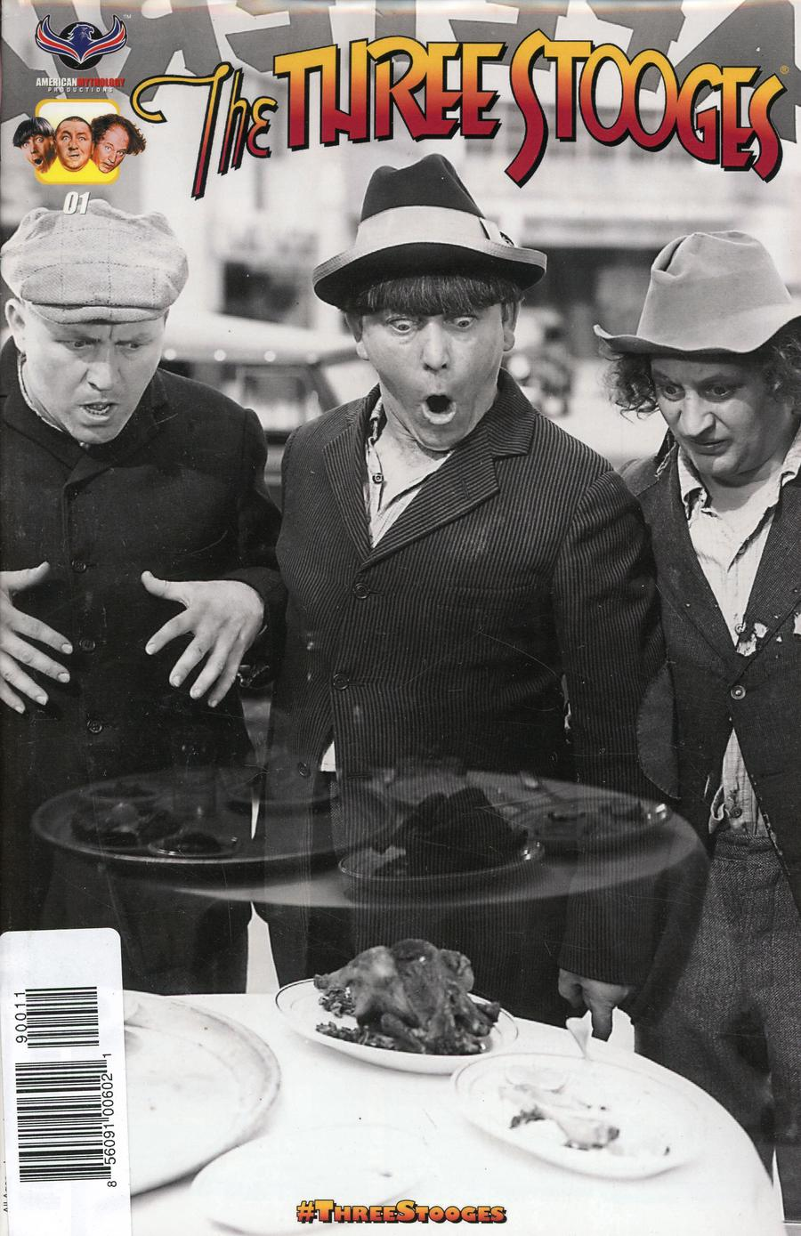 Three Stooges The Boys Are Back Reader Set