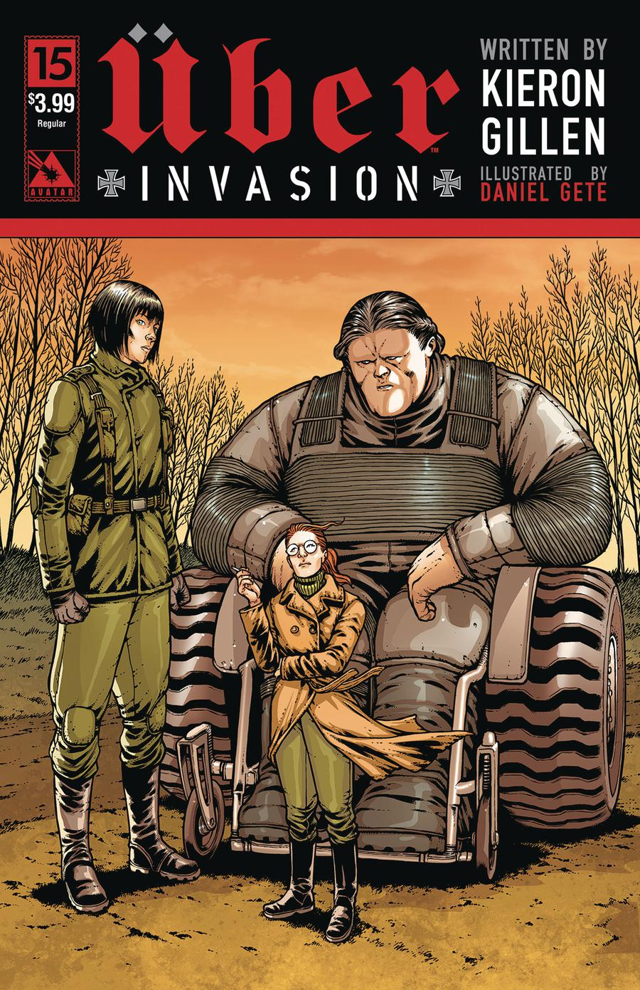 Uber Invasion #15 Cover A Regular Cover