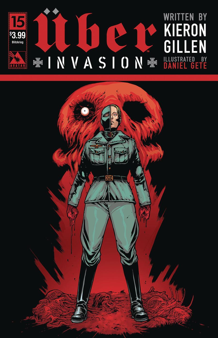 Uber Invasion #15 Cover D Blitzkrieg Cover