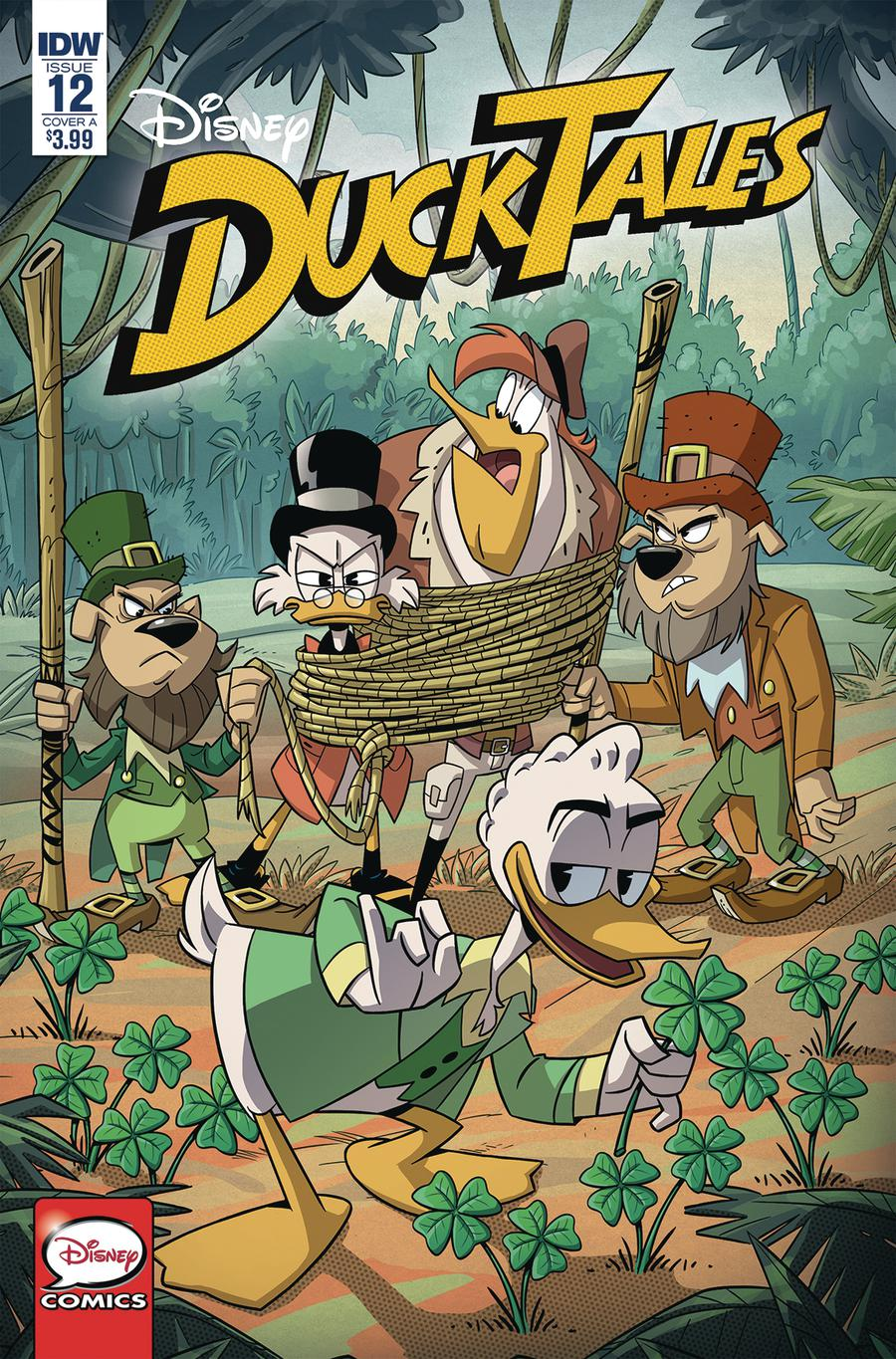Ducktales Vol 4 #12 Cover A Regular Marco Ghiglione Cover