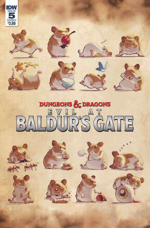 Dungeons & Dragons Evil At Baldurs Gate #5 Cover A Regular Max Dunbar Cover