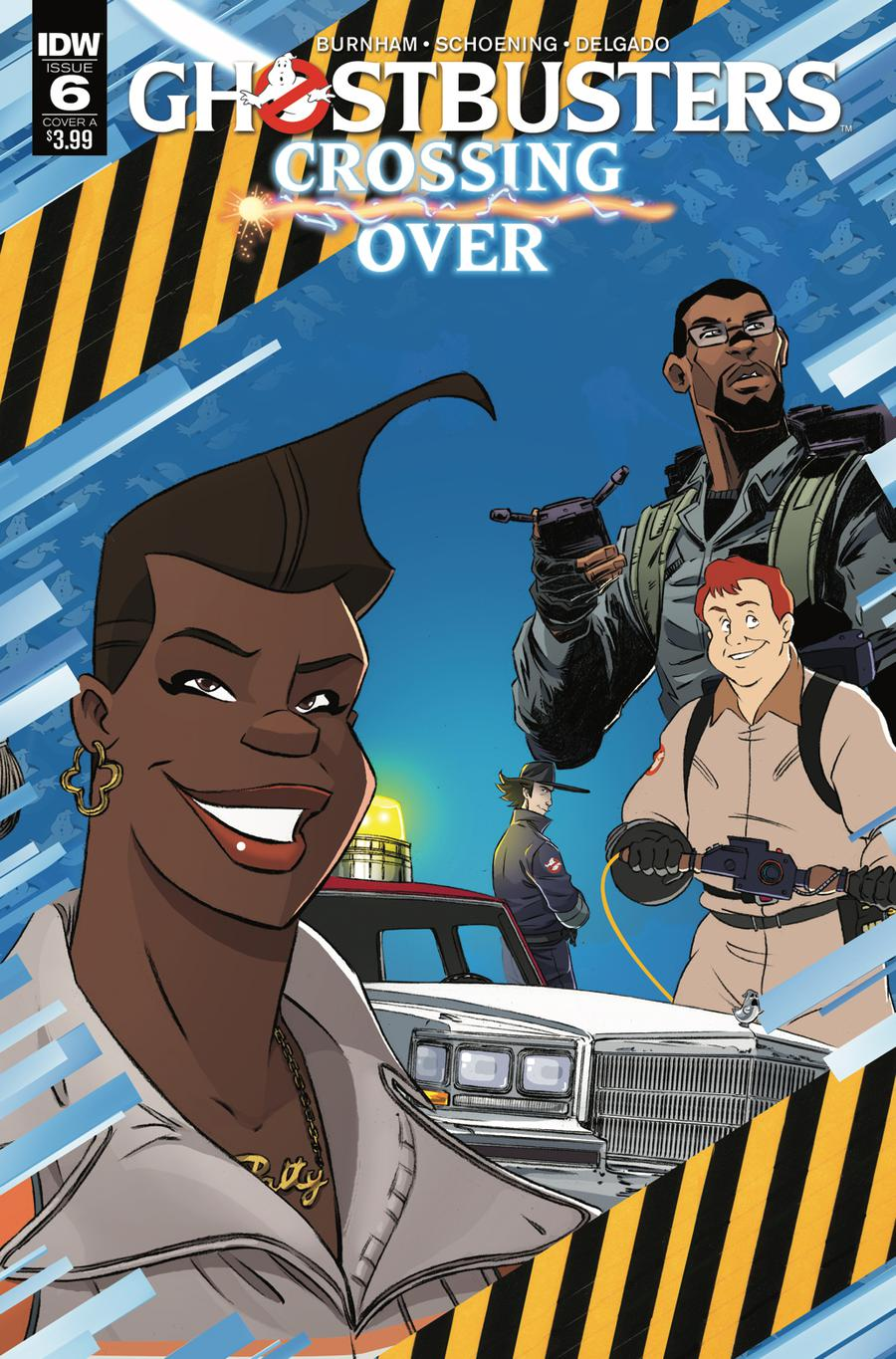 Ghostbusters Crossing Over #6 Cover A Regular Dan Schoening Cover