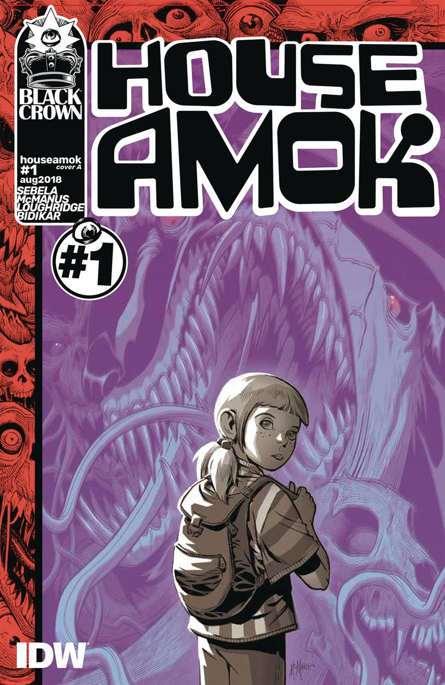 House Amok #1 Cover A Regular McManus Cover