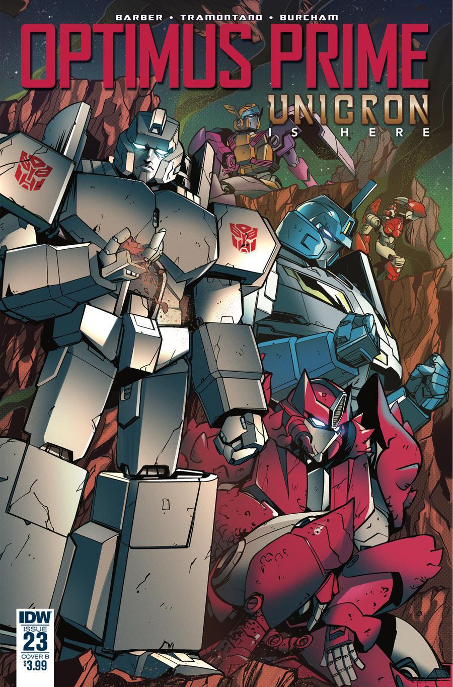 Optimus Prime #23 Cover B Variant Priscilla Tramontano Cover