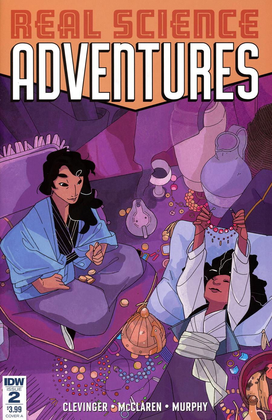 Real Science Adventures Nicodemus Job #2 Cover A Regular Meredith McClaren Cover