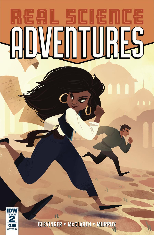Real Science Adventures Nicodemus Job #2 Cover B Variant Hollie Mengert Cover