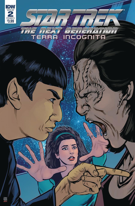 Star Trek The Next Generation Terra Incognita #2 Cover A Regular Tony Shasteen Cover
