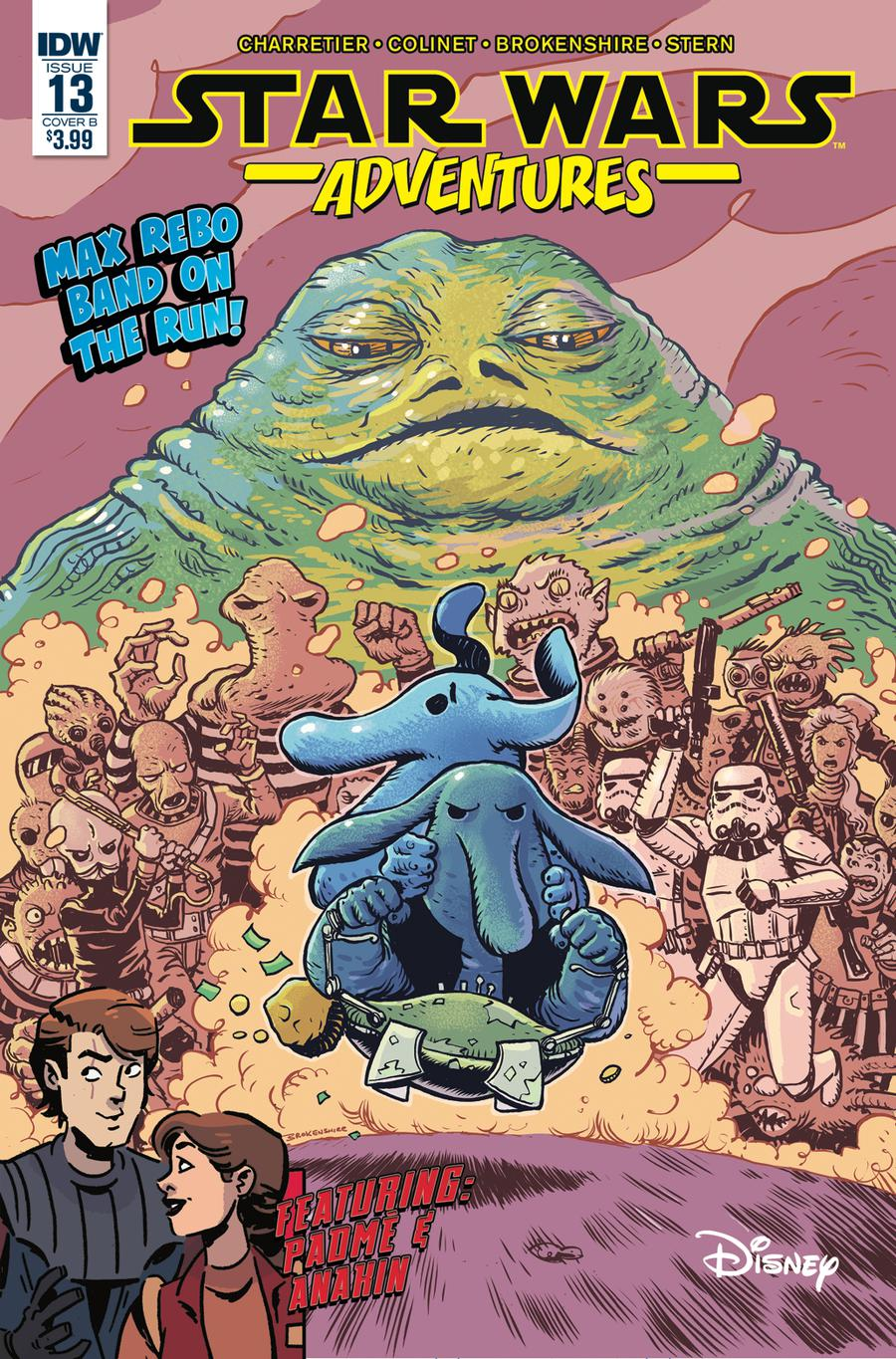 Star Wars Adventures #13 Cover B Variant Nick Brokenshire Cover