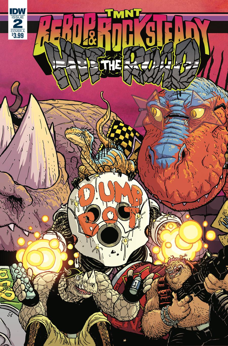Teenage Mutant Ninja Turtles Bebop & Rocksteady Hit The Road #2 Cover A Regular Nick Pitarra Cover