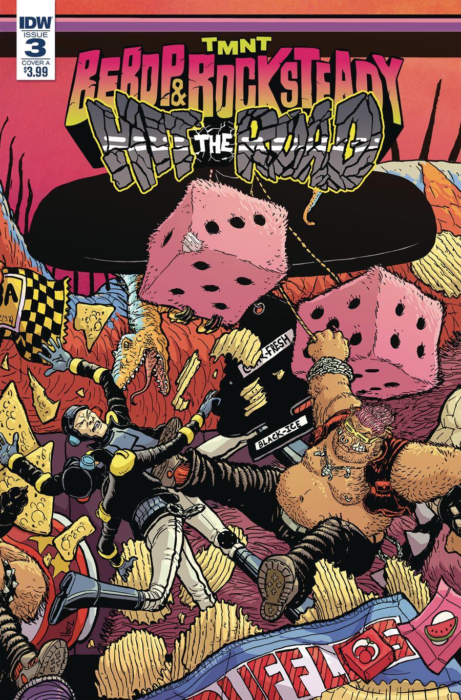 Teenage Mutant Ninja Turtles Bebop & Rocksteady Hit The Road #3 Cover A Regular Nick Pitarra Cover