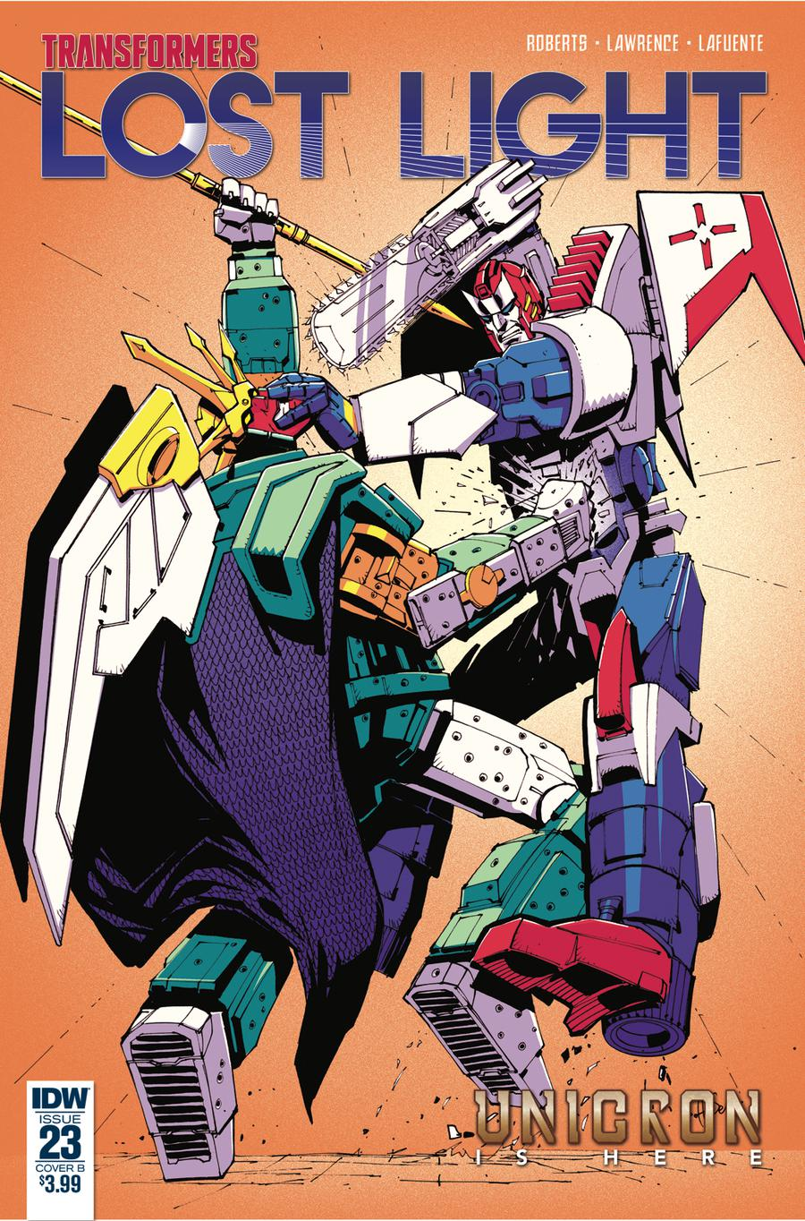 Transformers Lost Light #23 Cover B Variant Geoff Senior Cover