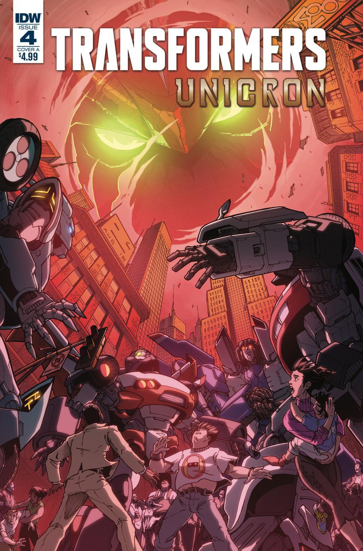 Transformers Unicron #4 Cover A Regular Alex Milne Cover