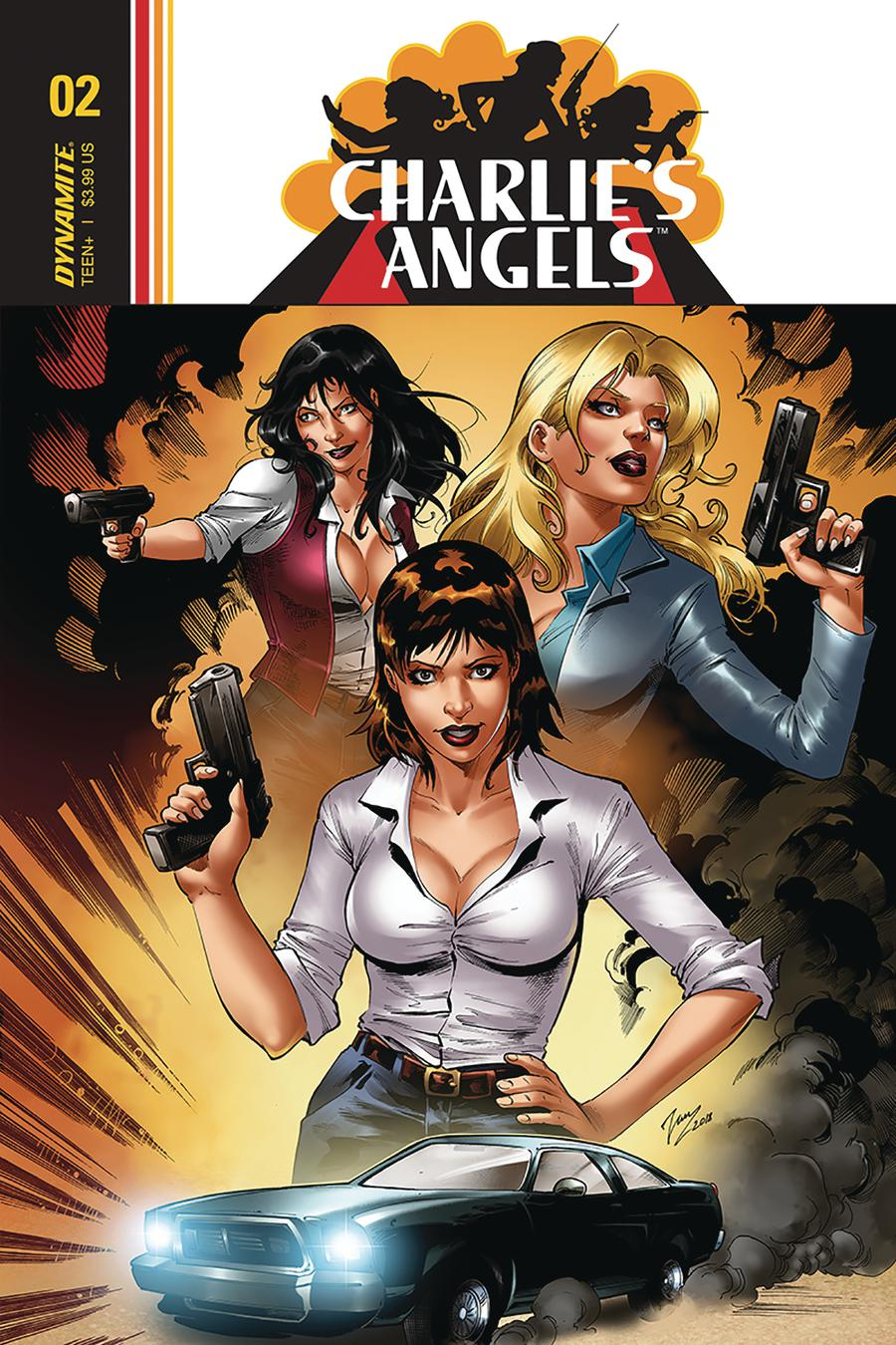 Charlies Angels #3 Cover A Regular Vicente Cifuentes Cover