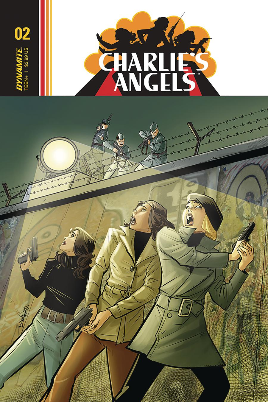 Charlies Angels #3 Cover B Variant Joe Eisma Cover