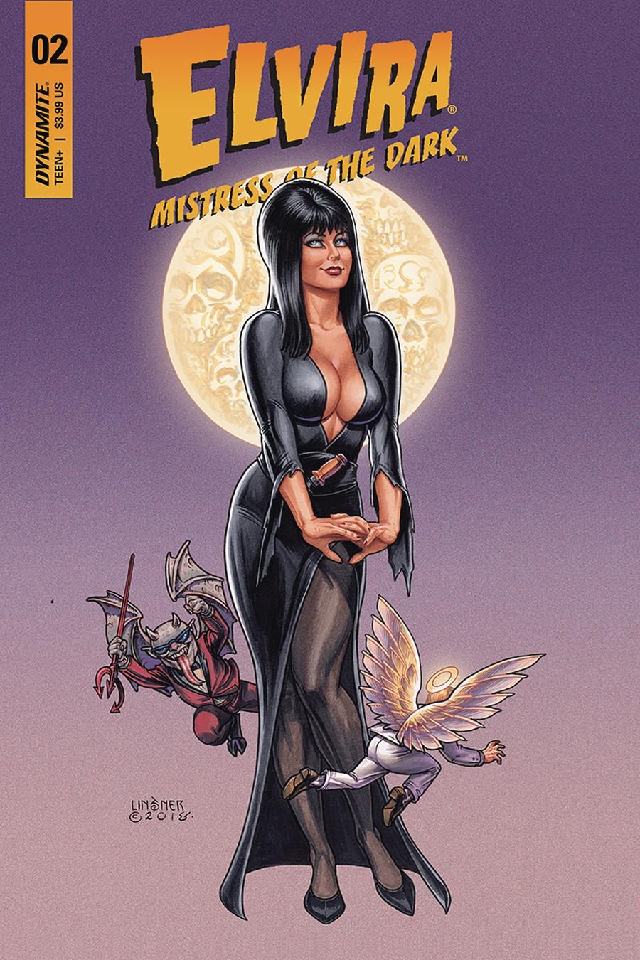 Elvira Mistress Of The Dark Vol 2 #2 Cover A Regular Joseph Michael Linsner Cover