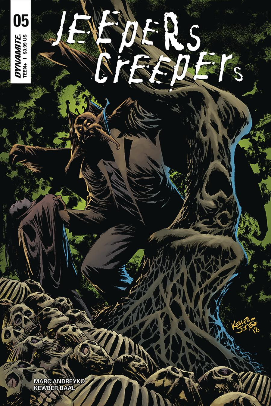 Jeepers Creepers #5 Cover C Variant Kelley Jones Cover
