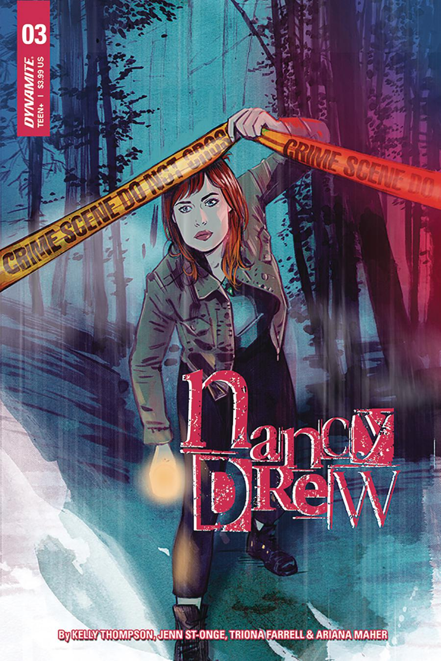 Nancy Drew #3 Cover A Regular Tula Lotay Cover