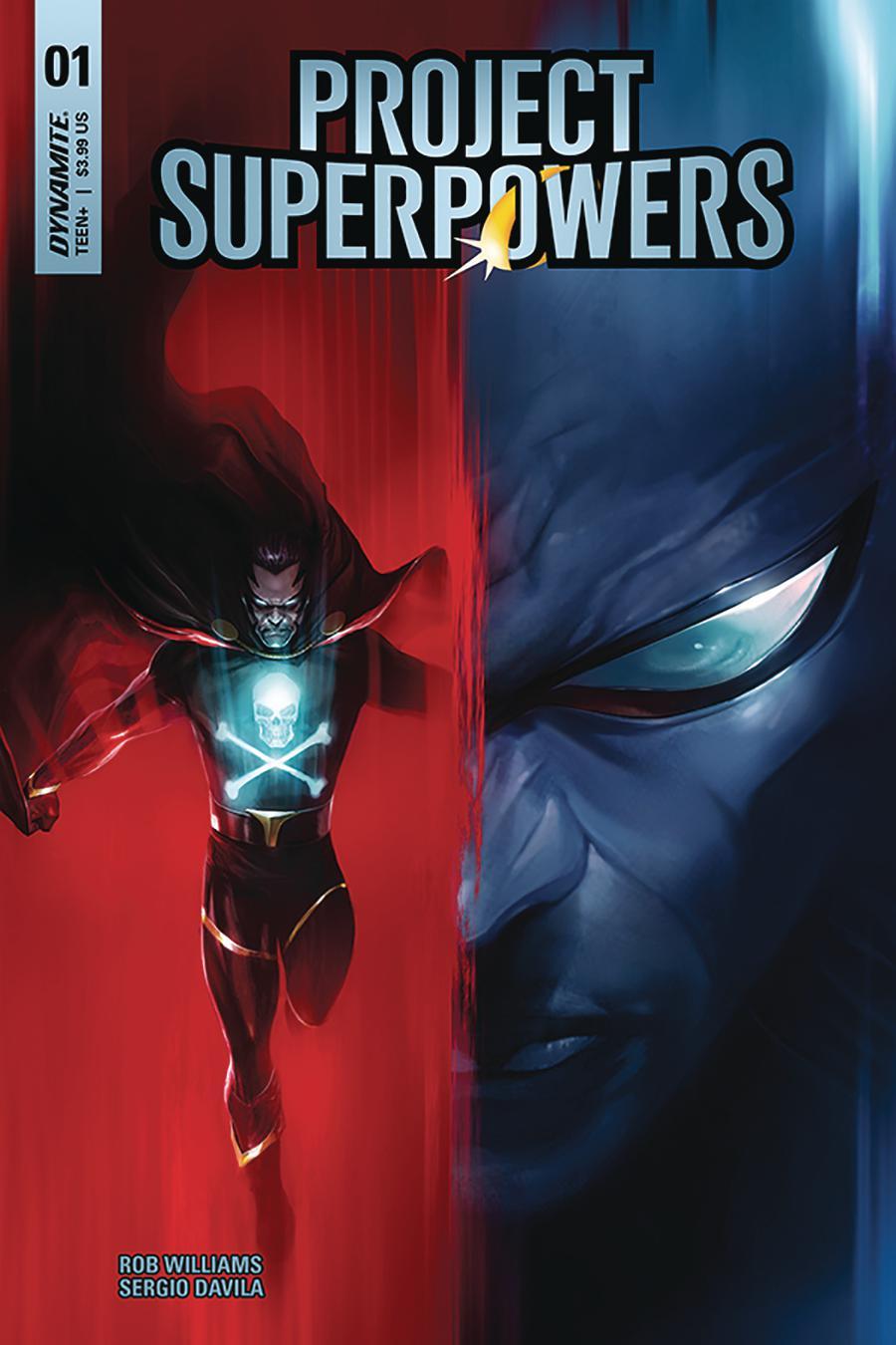 Project Superpowers Vol 3 #1 Cover A Regular Francesco Mattina Cover