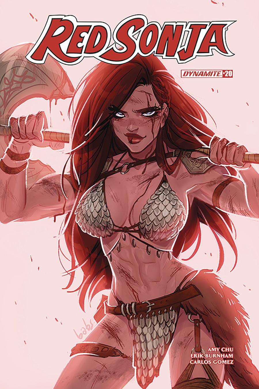 Red Sonja Vol 7 #20 Cover A Regular Babs Tarr Cover