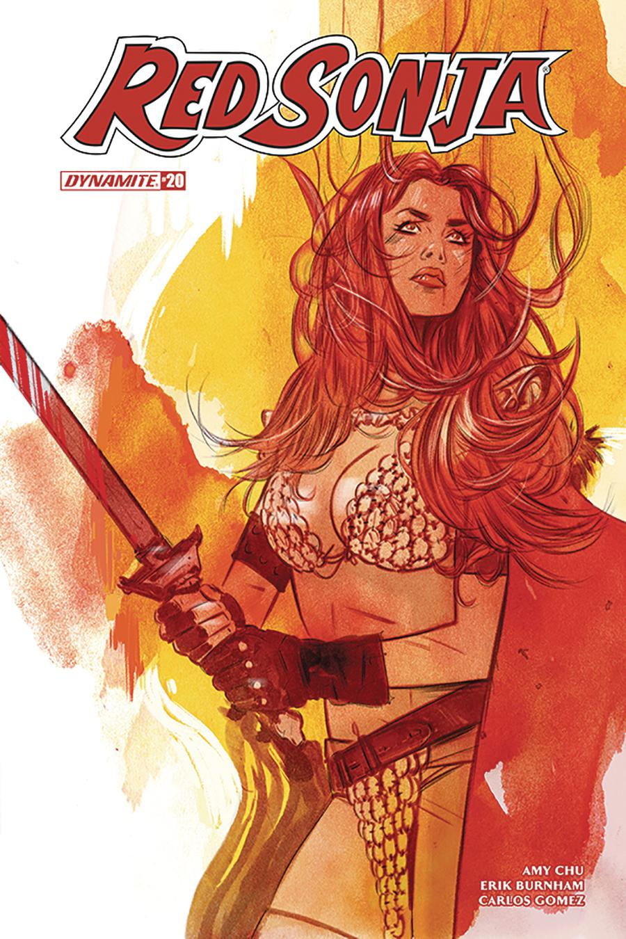 Red Sonja Vol 7 #20 Cover B Variant Tula Lotay Cover