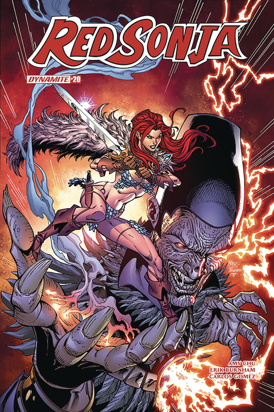Red Sonja Vol 7 #20 Cover C Variant John Royle Cover