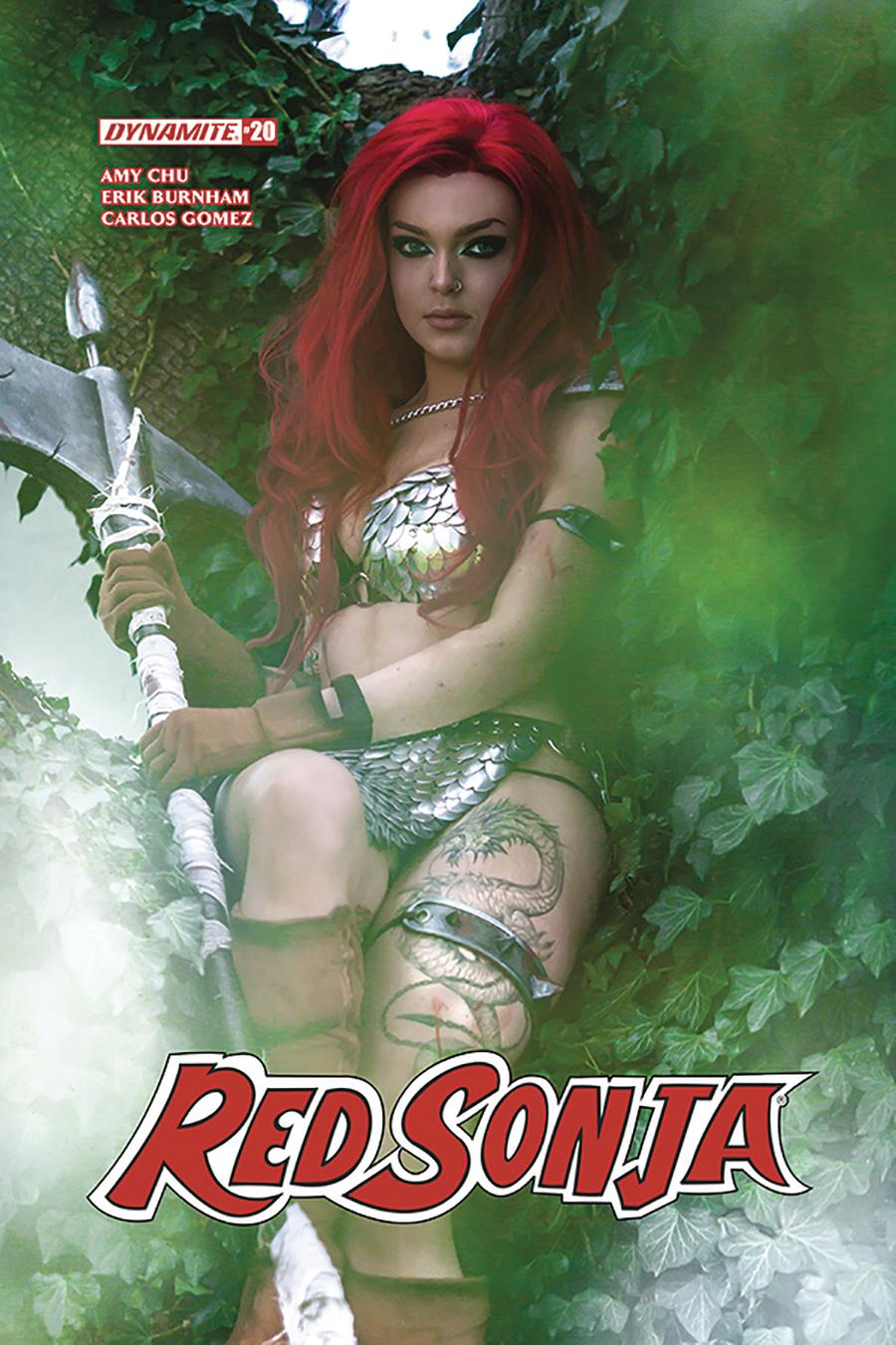 Red Sonja Vol 7 #20 Cover E Variant Cosplay Photo Cover