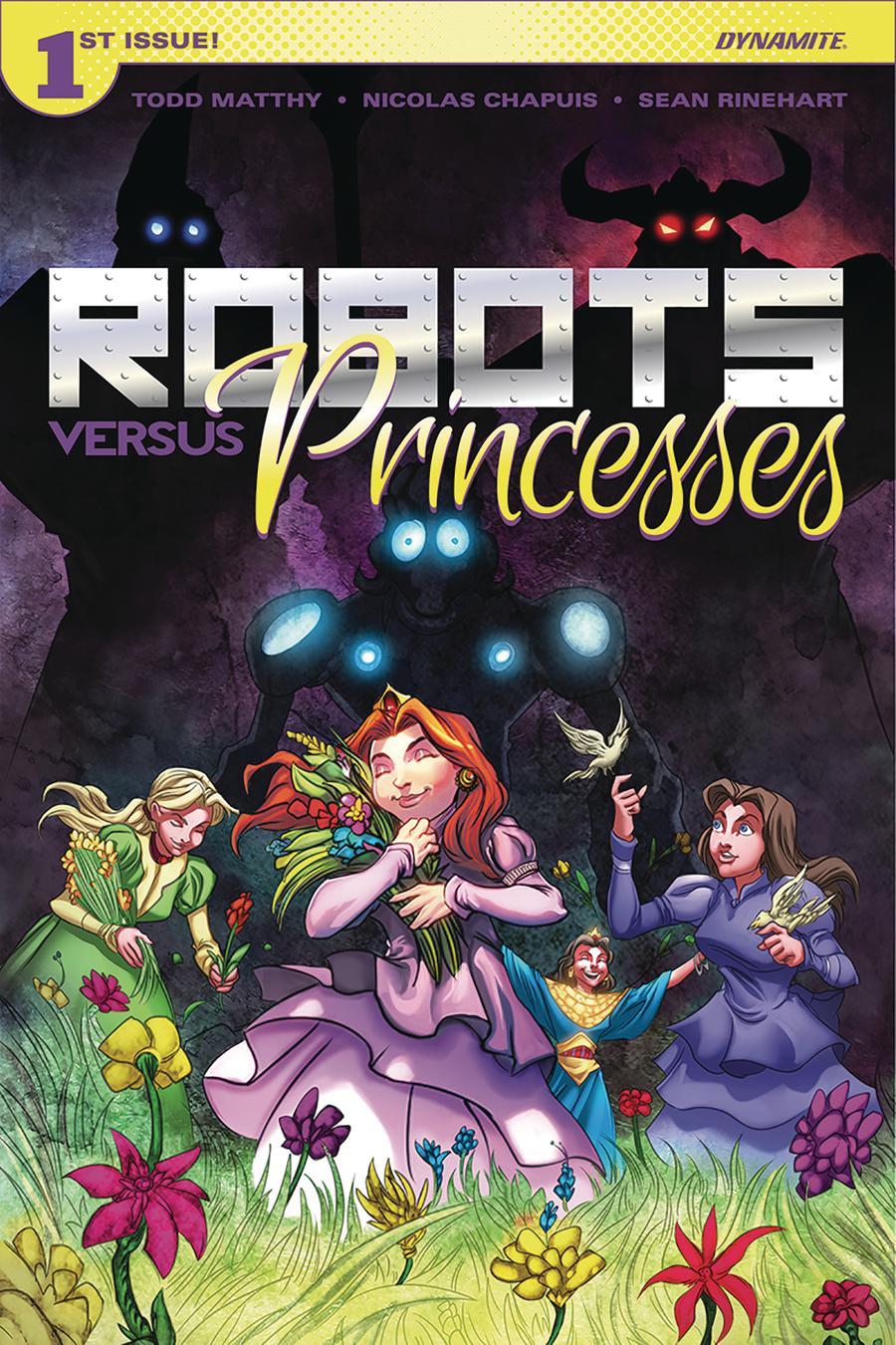 Robots vs Princesses #1 Cover A Regular Nicolas Chapuis Cover