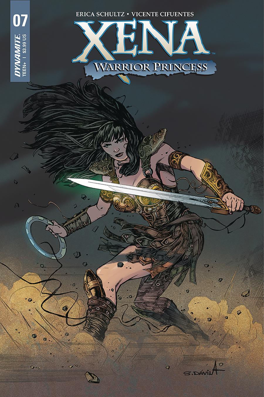 Xena Vol 2 #7 Cover A Regular Sergio Davila Cover