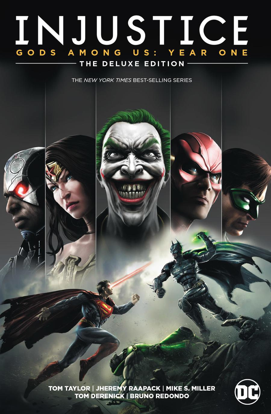 Injustice Gods Among Us Year One Deluxe Edition Book 1 HC