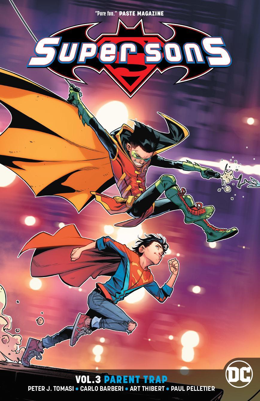 Super Sons (Rebirth) Vol 3 Parent Trap TP