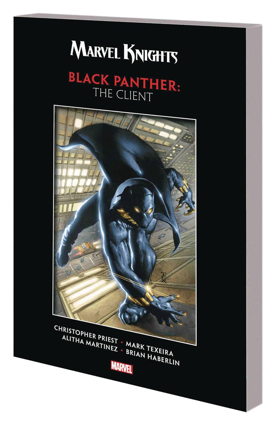 Marvel Knights Black Panther By Christopher Priest & Mark Texeira The Client TP