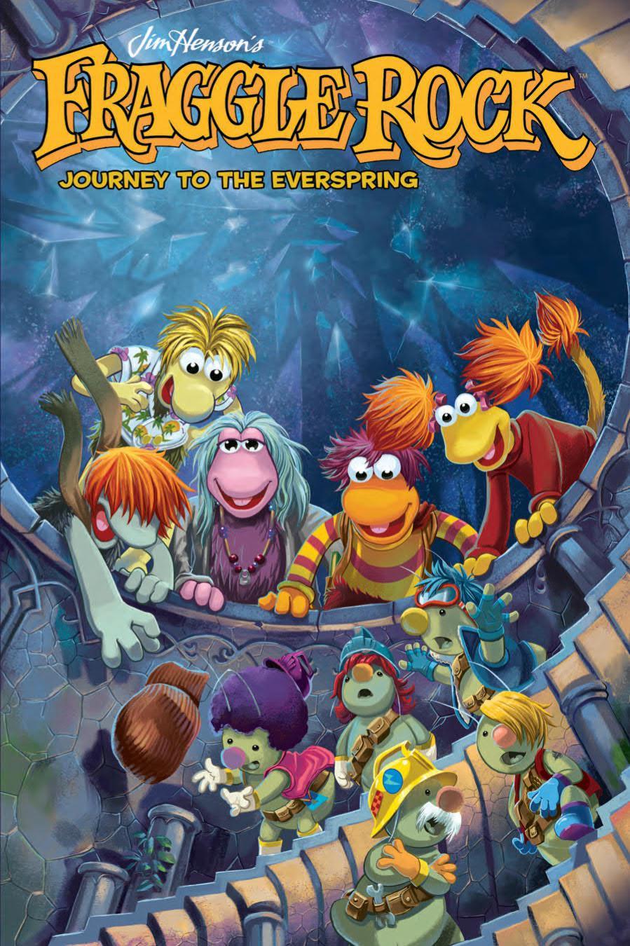 Jim Hensons Fraggle Rock Journey To The Everspring GN