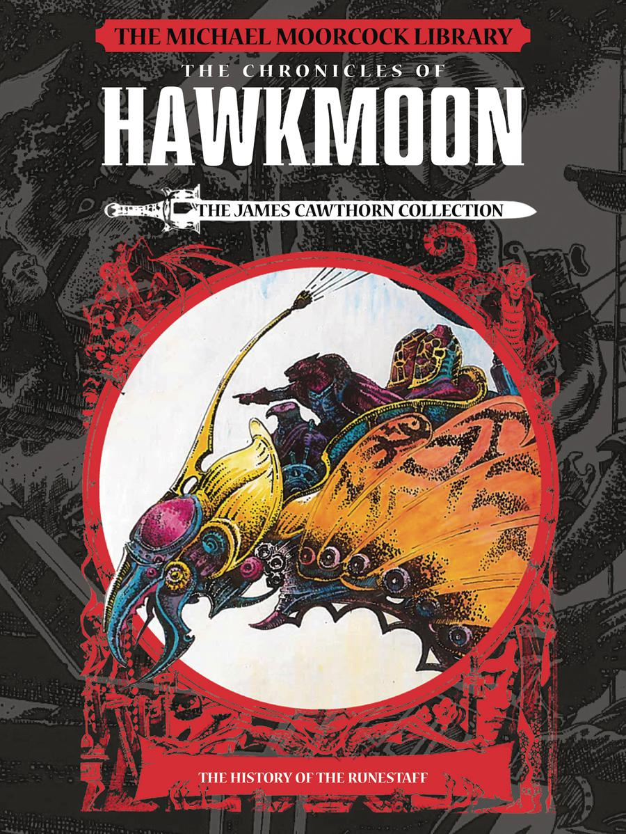 Michael Moorcock Library Chronicles of Hawkmoon History Of The Runestaff Vol 1 HC