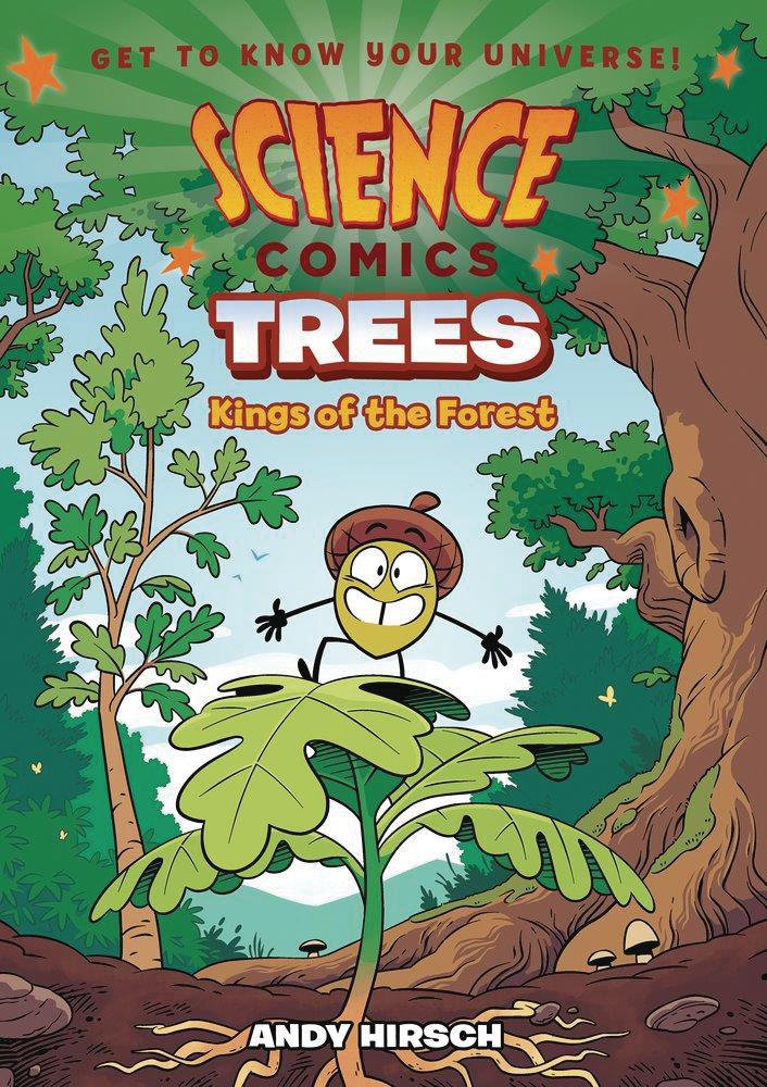 Science Comics Trees Kings Of The Forest TP