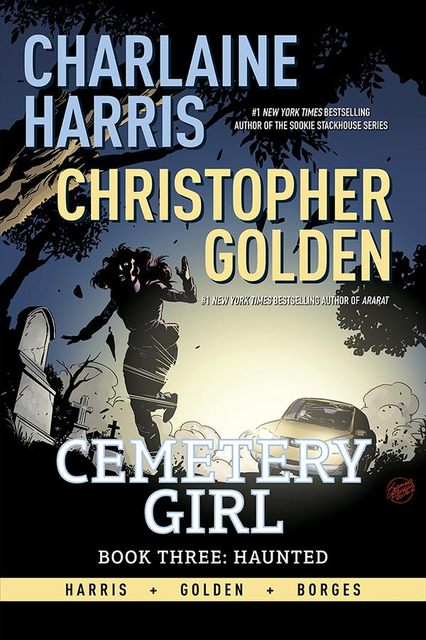 Cemetery Girl Book 3 Haunted HC Signed Edition