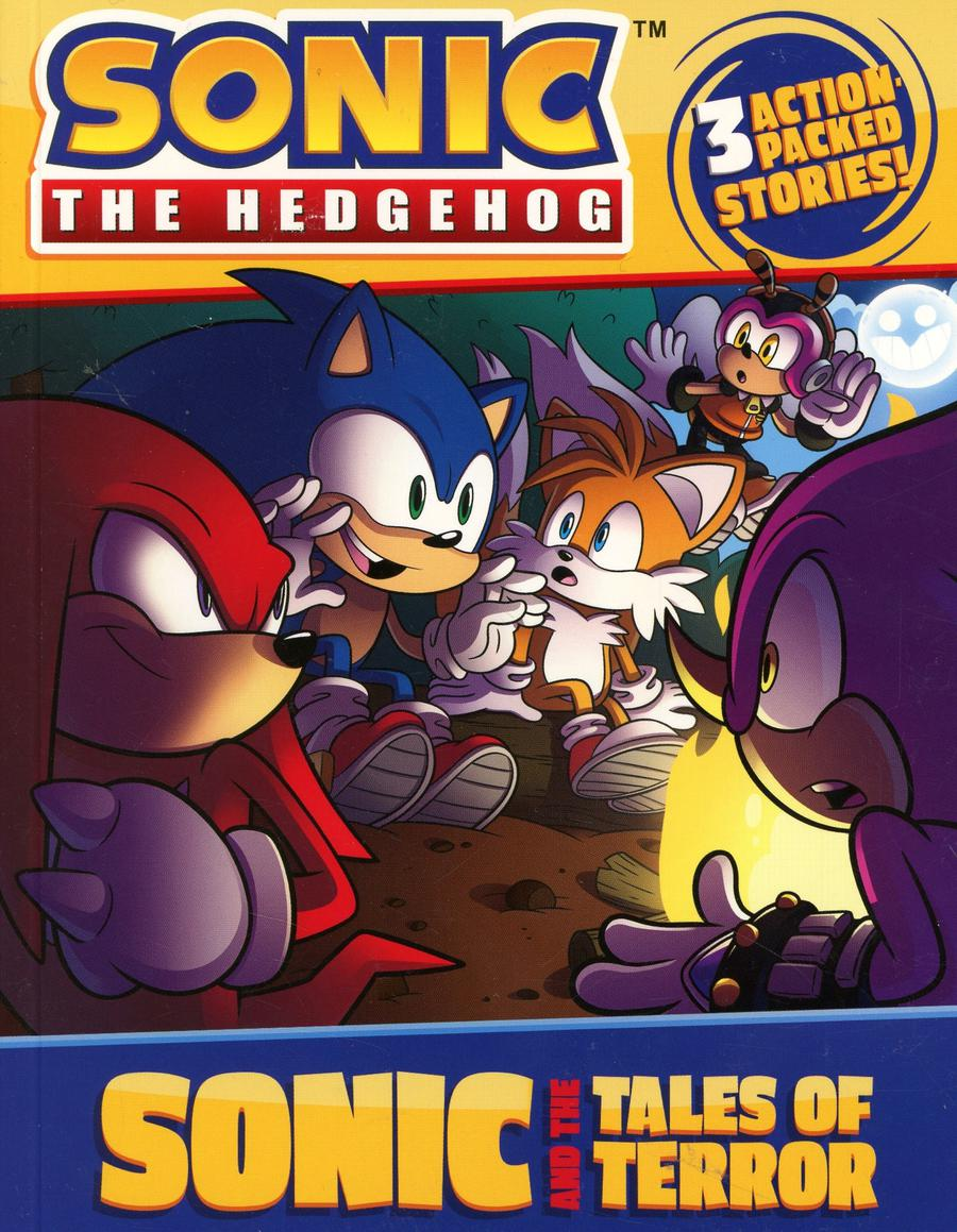 Sonic The Hedgehog Sonic And The Tales Of Terror SC