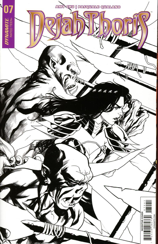 Dejah Thoris Vol 2 #7 Cover D Incentive Mike McKone Black & White Cover