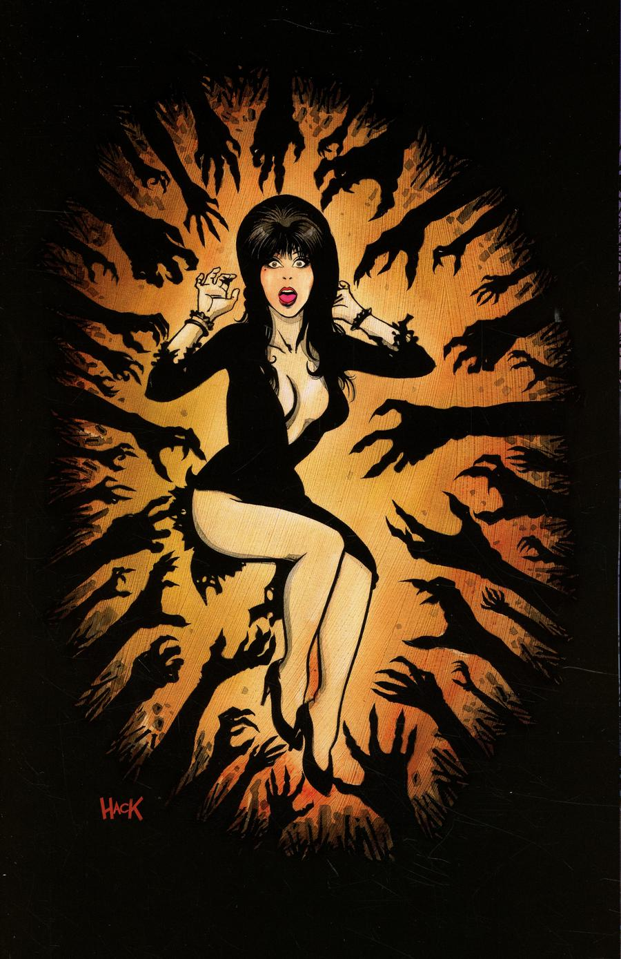 Elvira Mistress Of The Dark Vol 2 #2 Cover F Incentive Robert Hack Virgin Cover
