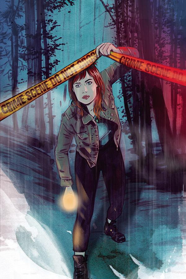 Nancy Drew #3 Cover D Incentive Tula Lotay Virgin Cover