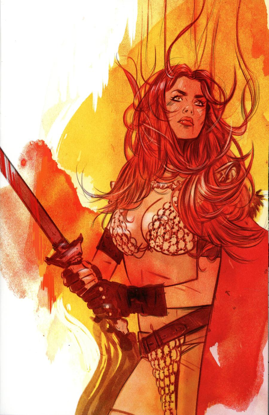 Red Sonja Vol 7 #20 Cover G Incentive Tula Lotay Virgin Cover