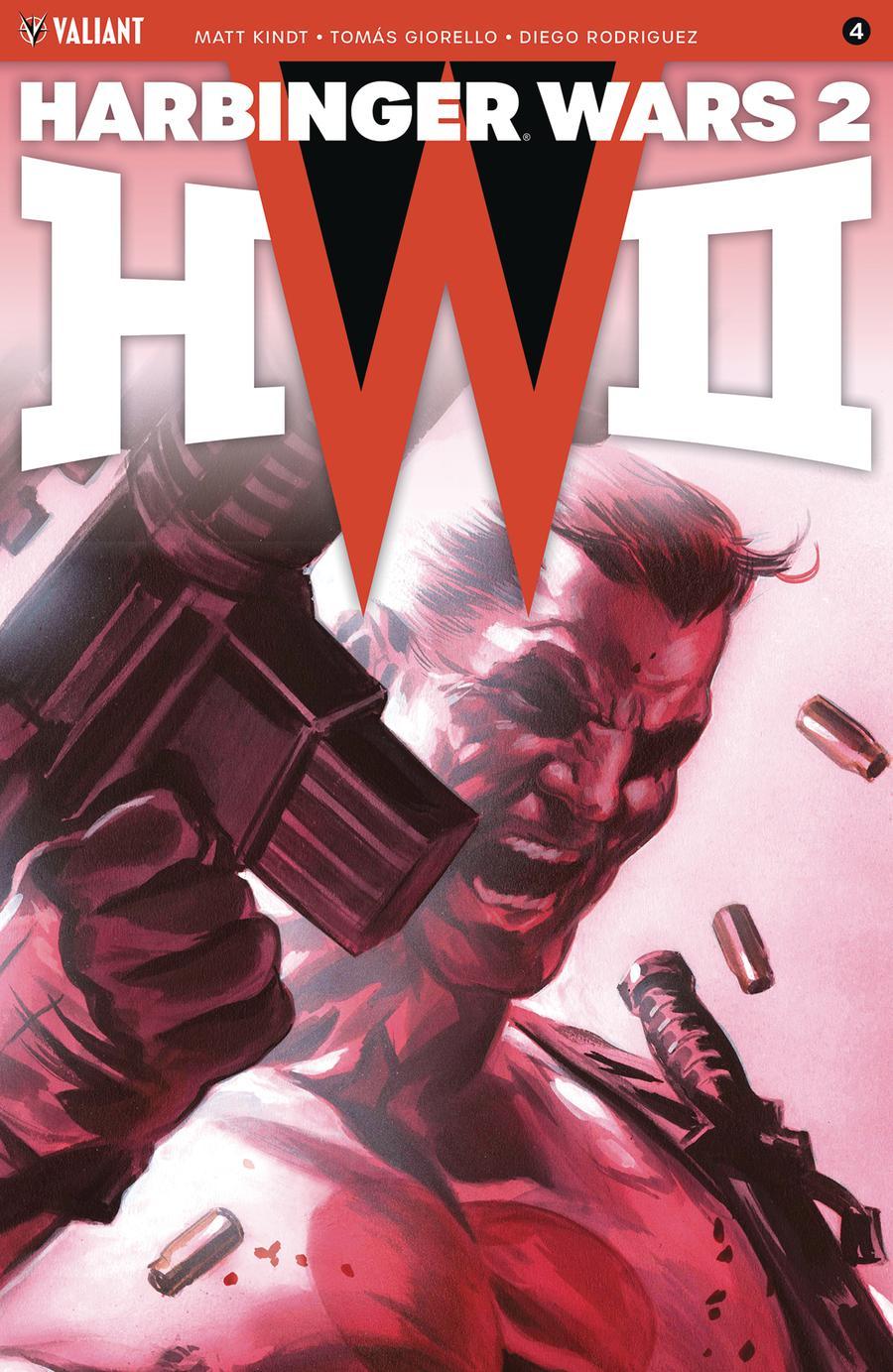 Harbinger Wars 2 #4 Cover E Incentive Felipe Massafera Harbinger Wars 2 Icon Variant Cover