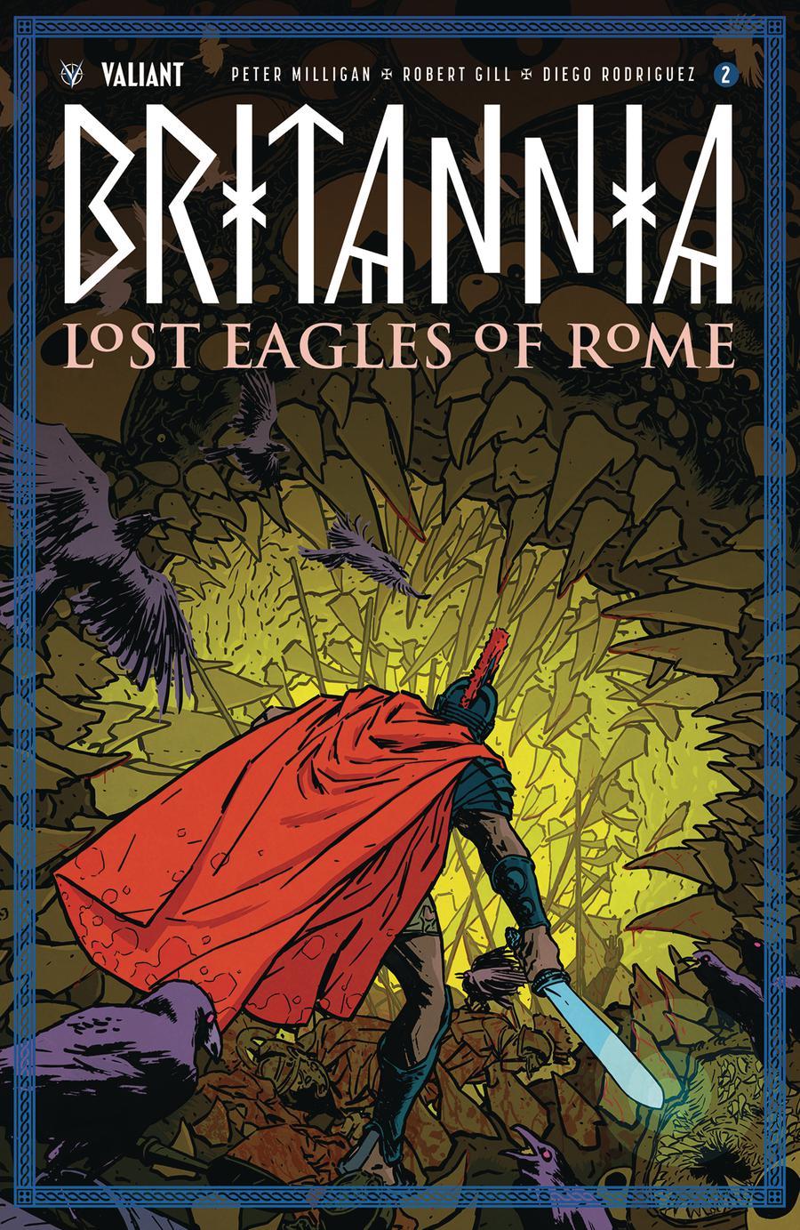 Britannia Lost Eagles Of Rome #2 Cover C Incentive Kano Variant Cover