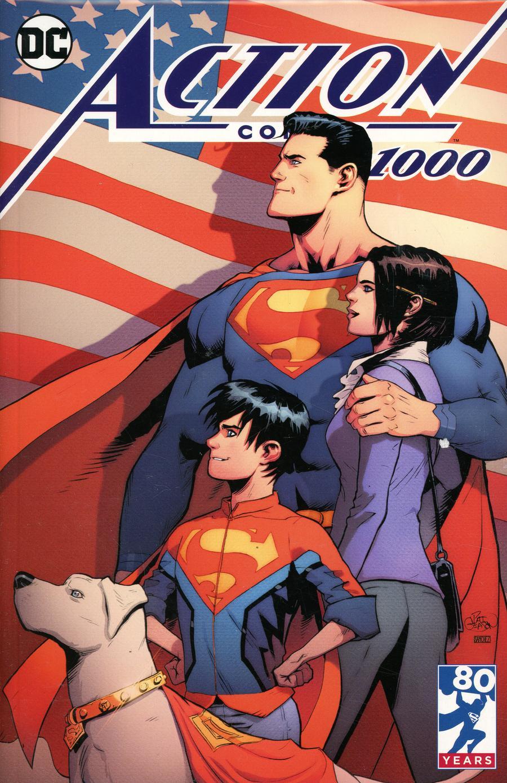 Action Comics Vol 2 #1000 Cover Z-J DF Newbury Comics Exclusive Patrick Gleason Variant Cover