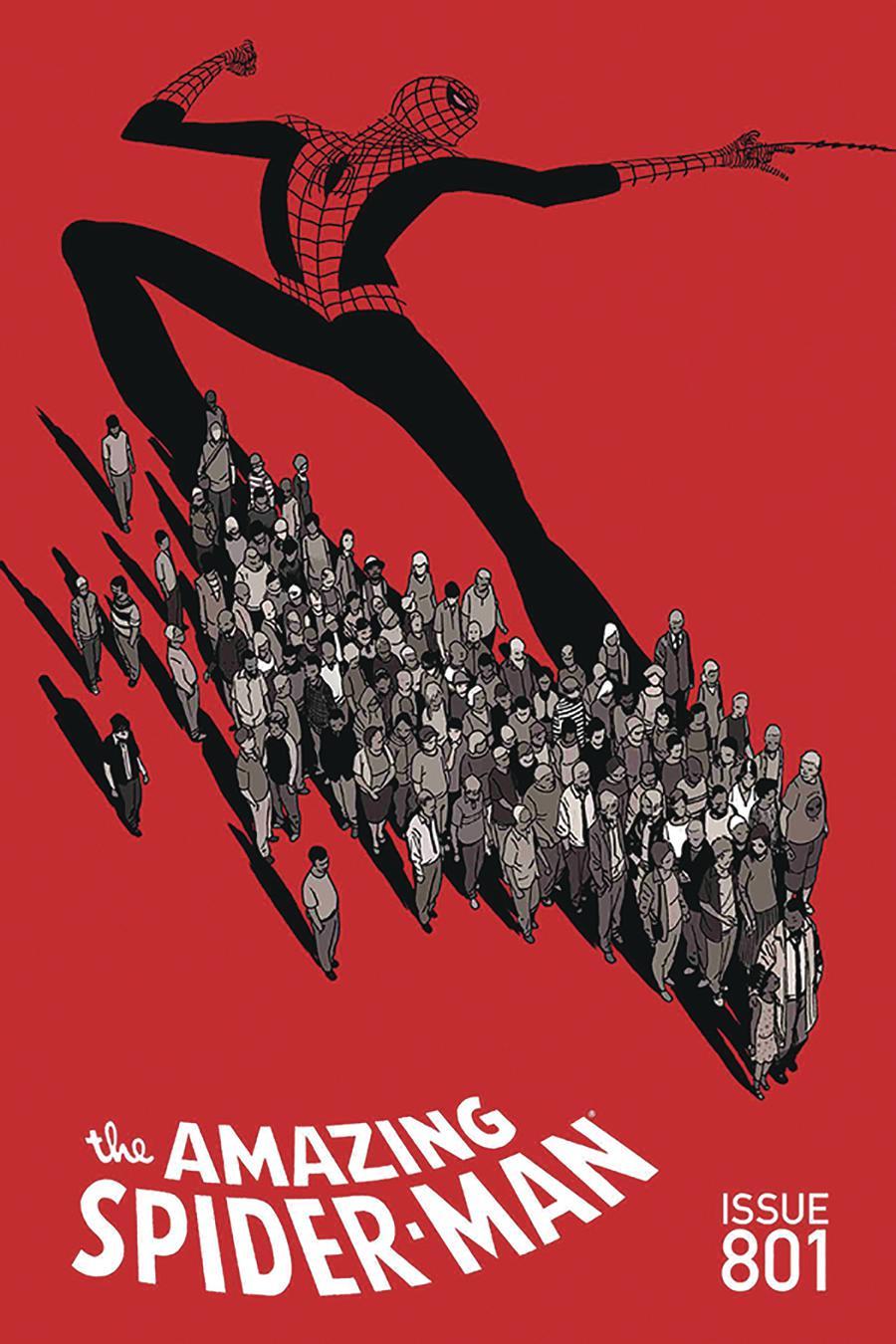 Amazing Spider-Man Vol 5 #1 Cover N DF Signed By John Romita Sr