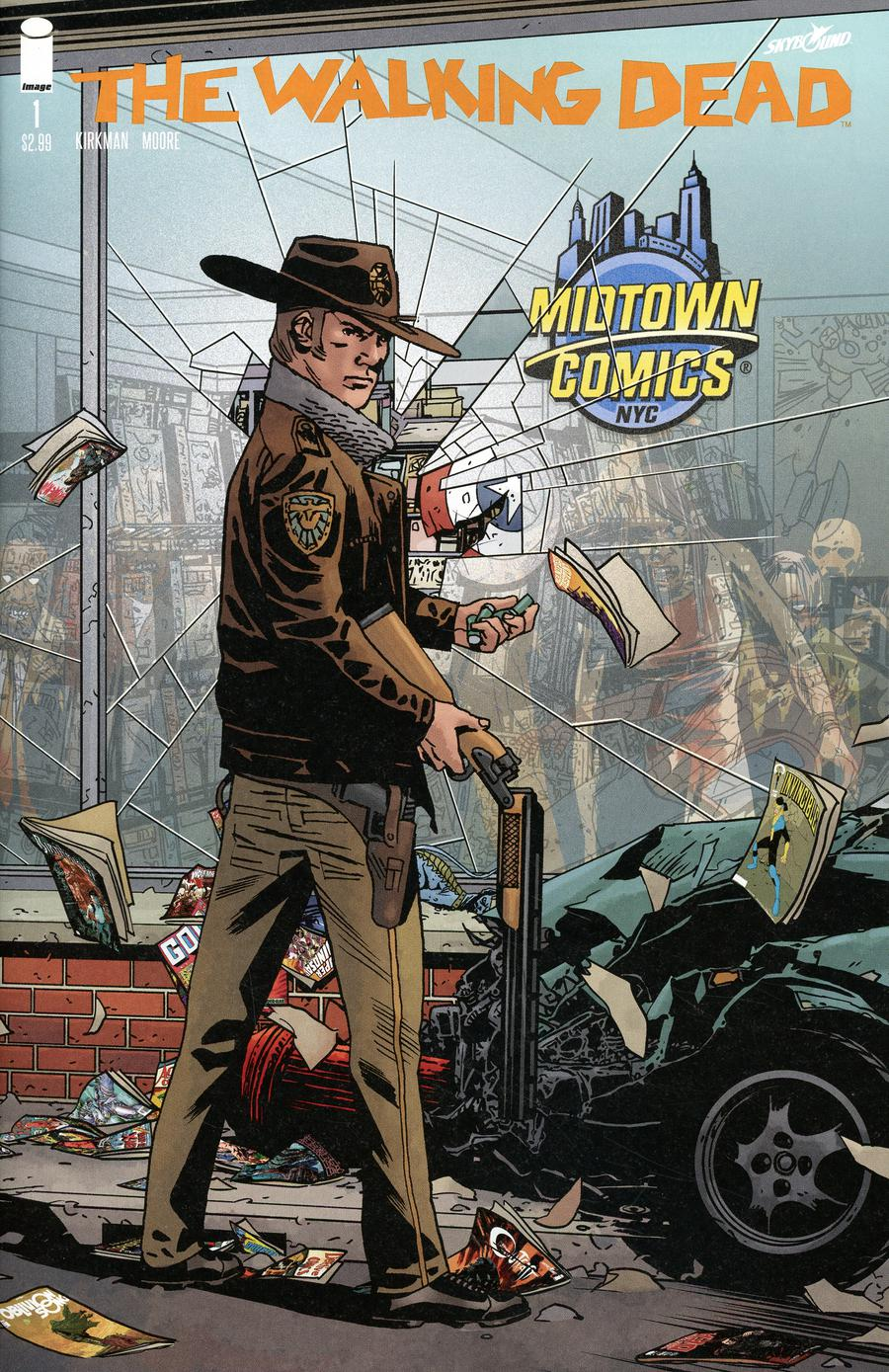 Walking Dead 15th Anniversary Edition #1  Midtown Exclusive Cover