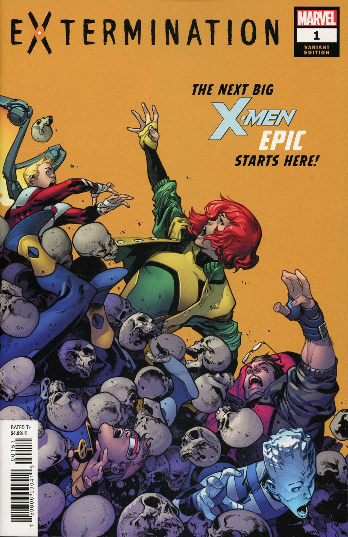 Extermination #1 Cover D Incentive Pepe Larraz Variant Cover