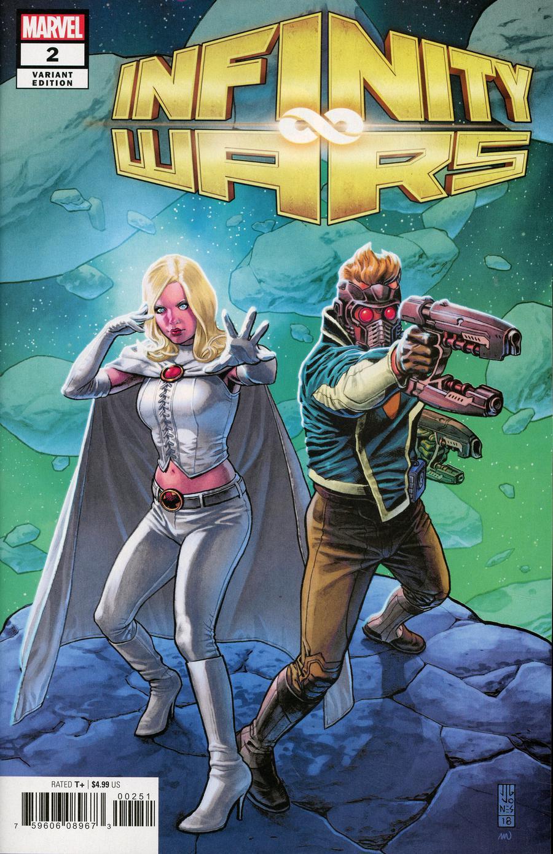 Infinity Wars #2 Cover D Incentive JG Jones Promo Variant Cover